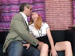 This tricky old, dirty old teacher gets his cock bj`ed excellent and rigid by the lovely Oksana, one of his students. How successful can one old teacher get for Christ`s sake!
